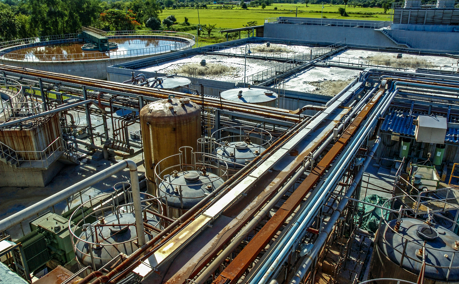 waste water treatment company